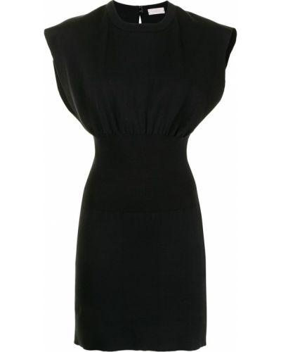 Czarna sukienka bawełniana Mrz