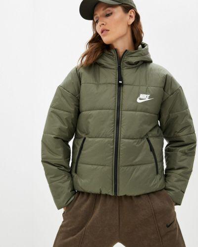 Утепленная куртка - хаки Nike
