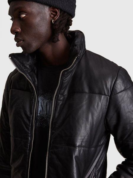 Кожаная куртка короткая Allsaints