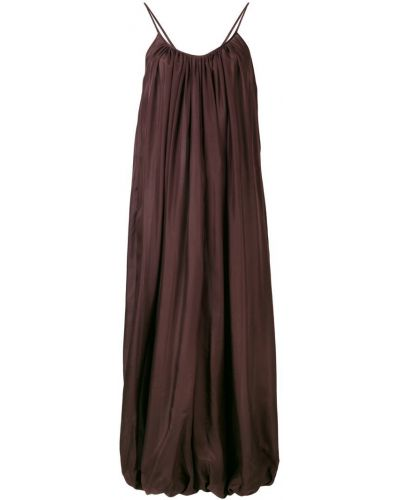 Коричневое облегающее платье Kalita