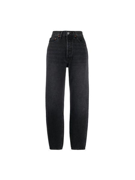 Czarne mom jeans Re/done