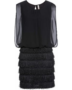 Вечернее платье мини с бахромой Bonprix