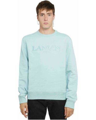 Zielony sweter Lanvin