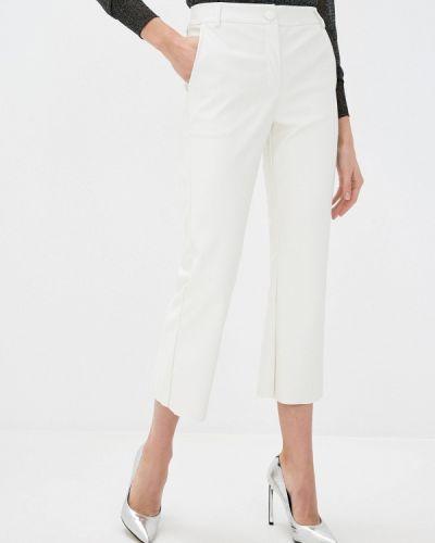 Прямые белые брюки Defacto