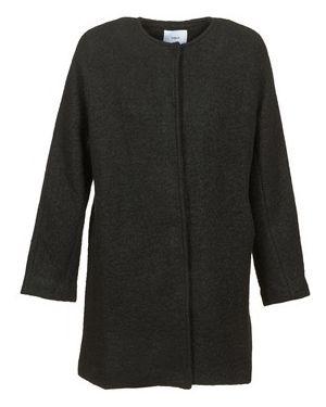 Czarny płaszcz przeciwdeszczowy Suncoo