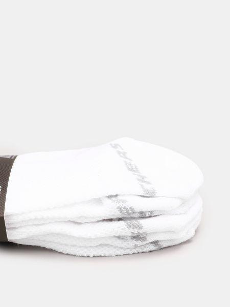 Белые носки Skechers