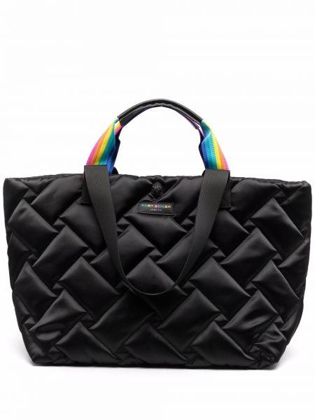 Нейлоновая сумка - черная Kurt Geiger London