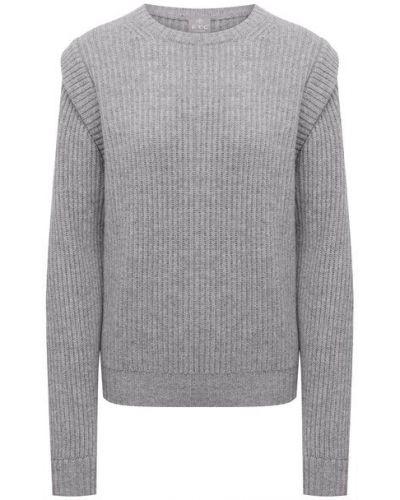 Серый кашемировый свитер Ftc