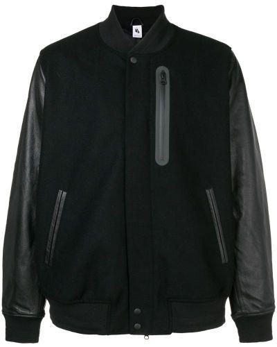 Куртка черная на молнии Nikelab