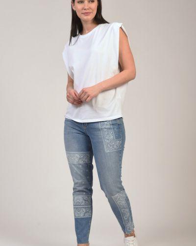 Хлопковые брюки Liu Jo Jeans