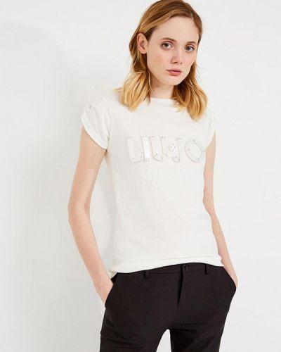 Белая футболка Liu Jo