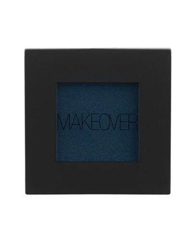 Тени для век темные синие Makeover Paris