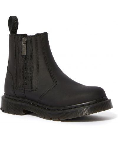 Теплые кожаные ботинки челси Dr Martens