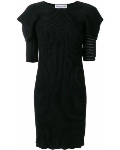 Трикотажное платье - черное Sonia Rykiel