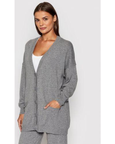 Szary sweter oversize Kontatto