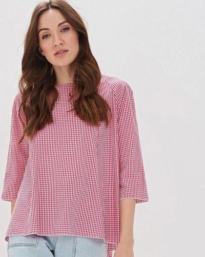 Блузка с длинным рукавом розовая итальянский Massimiliano Bini