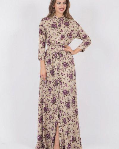 Платье макси - бежевое Olivegrey