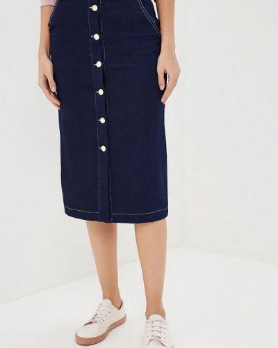 Синяя юбка Rodier