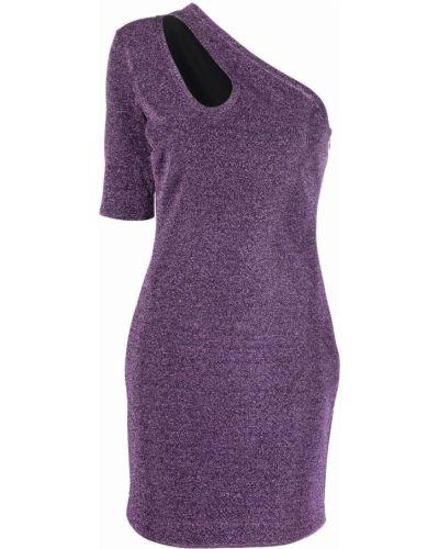 Платье мини короткое - фиолетовое Stella Mccartney