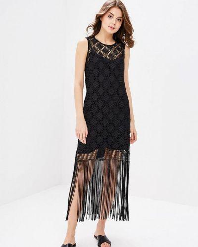 Черное платье весеннее Adl