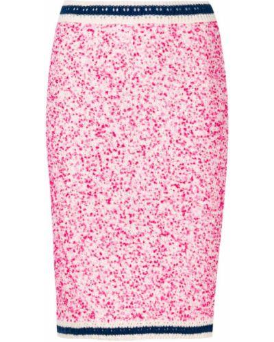 Вязаная юбка в полоску букле P.a.r.o.s.h.