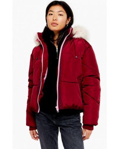 Утепленная куртка демисезонная осенняя Topshop