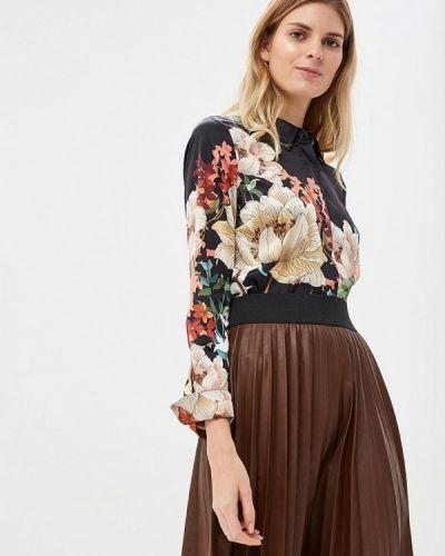 Блузка с длинным рукавом черная Marciano Los Angeles