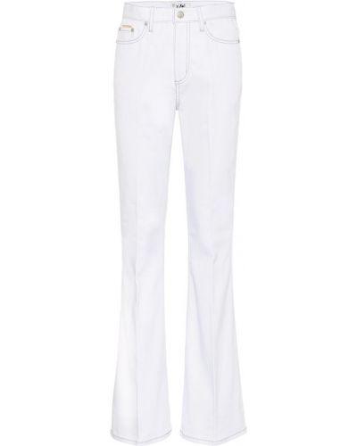 Расклешенные джинсы стрейч mom Eytys