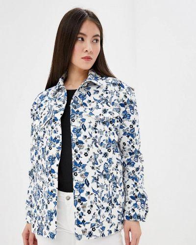 Джинсовая куртка весенняя белая Liu Jo