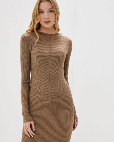 Платье - коричневое Bluoltre