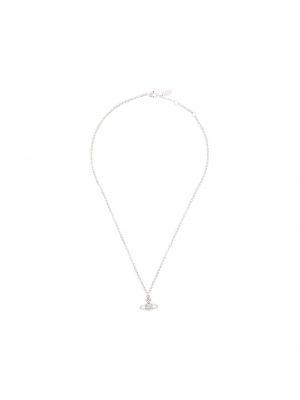 Naszyjnik srebrny Vivienne Westwood