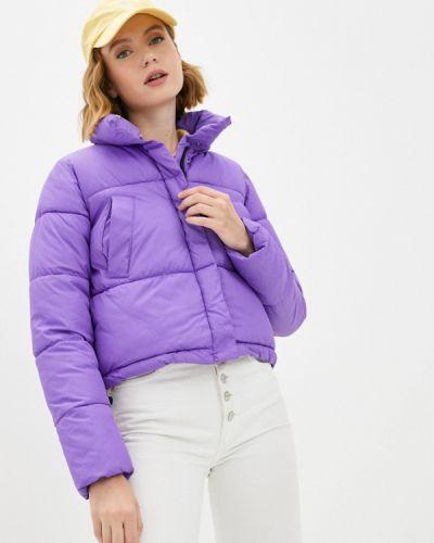 Фиолетовая утепленная куртка Fresh Cotton