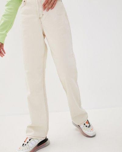 Бежевые прямые джинсы Befree