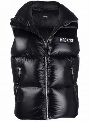 Черная жилетка без рукавов Mackage