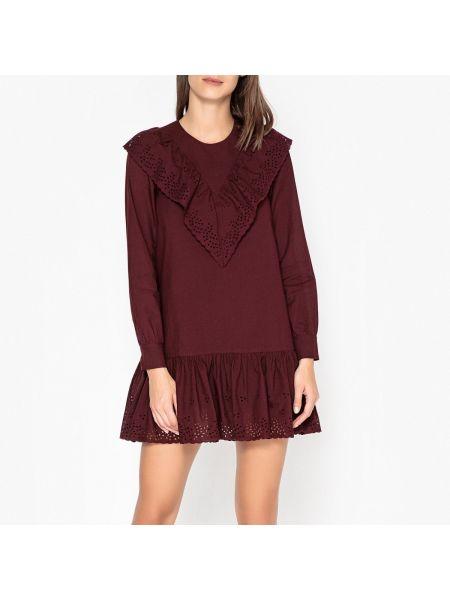 Платье мини с вышивкой на пуговицах Paul & Joe Sister