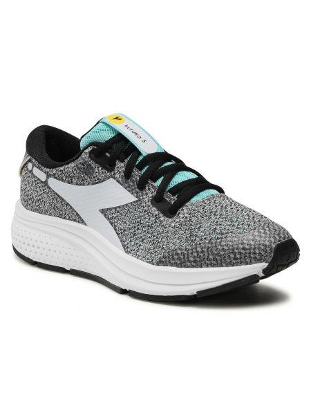 Buty sportowe srebrne - białe Diadora
