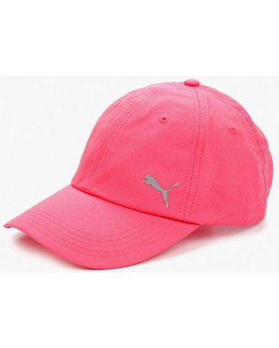 Розовый головной убор Puma