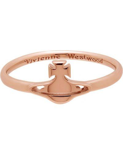 Różowy złoty pierścionek Vivienne Westwood