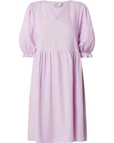 Fioletowa sukienka z wiskozy Moves