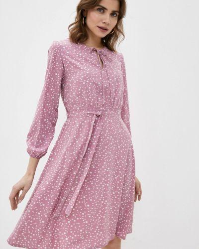Прямое розовое платье А-силуэта Froggi