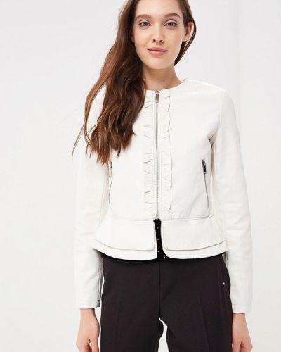 Белая куртка весенняя Softy