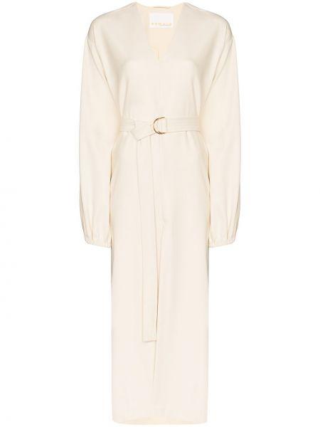 Платье мини миди с V-образным вырезом Remain