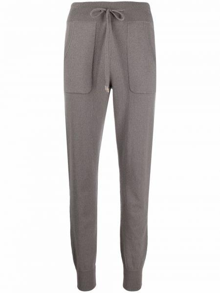 Серые кашемировые брюки Malo