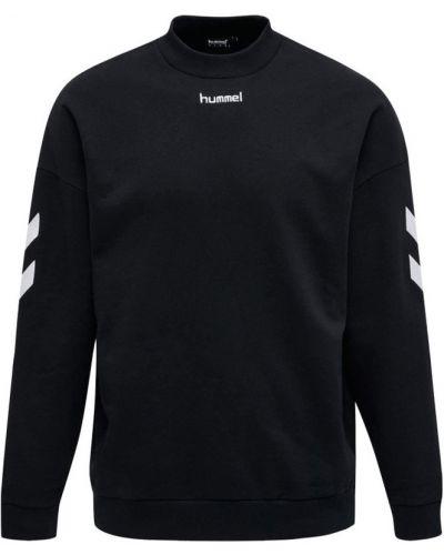 Czarna bluza z haftem Hummel