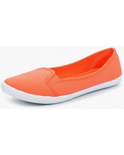 Слипоны оранжевый Ptpt