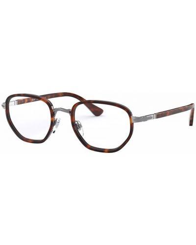 Okulary srebrne - brązowe Persol