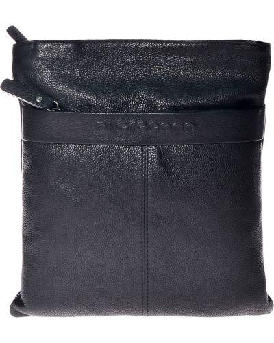 Текстильная черная сумка Di Gregorio
