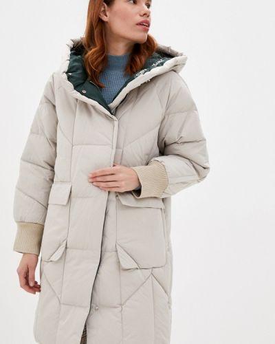 Утепленная куртка - бежевая снежная королева