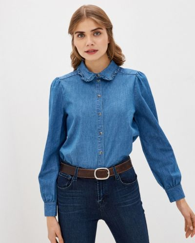 Джинсовая рубашка - голубая Soaked In Luxury