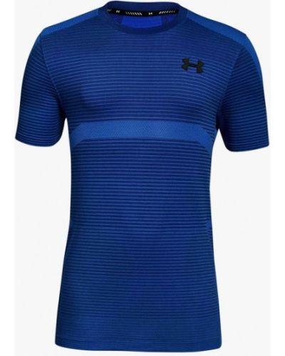 Синяя футболка спортивная Under Armour
